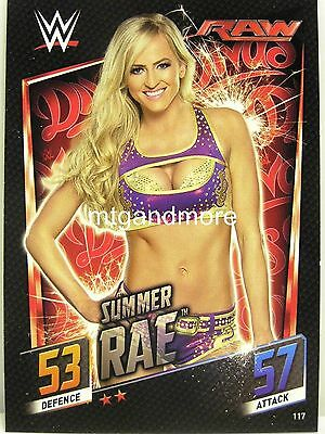 Slam Attax Then Now Forever - #117 Summer Rae