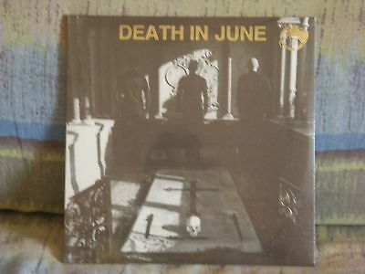 Death In June - Nada Plus - Lp Golden Vinyl -  Brand New  - 2011