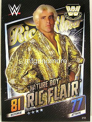 """Slam Attax Then Now Forever - #213 """"Nature Boy"""" Ric Flair"""