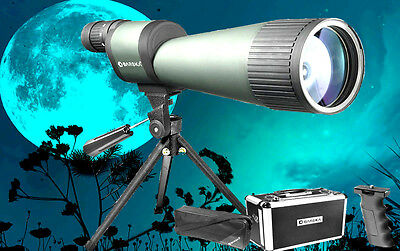 "BARSKA 25-125x88mm(3-1/2""!!)WATERPROOF SPOTTING SCOPE"