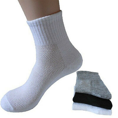5 Pairs Mens Casual Winter Warm Socks Soft Cotton Comfortable Thermal Sport Sock