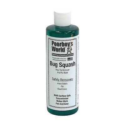 Poorboys Bug Squash Bug / Tar / Grime Remover / Cleaner - 473ml