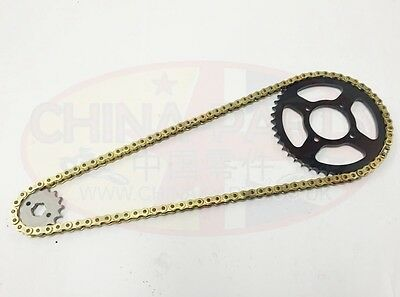 Yamaha WR125 R/X-Y/Z 09-14 GOLD Heavy Duty Chain and Sprocket Kit