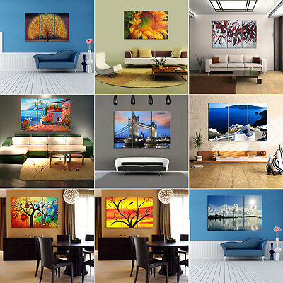 Modern Abstract HD Canvas Prints Posters Home Decor Wall Art Painting (Unframed)
