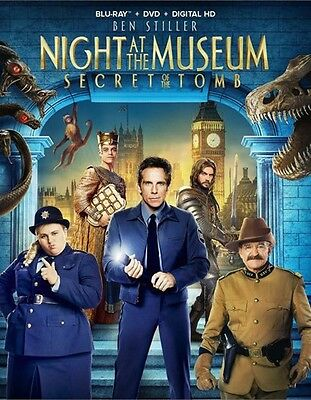 Night at the Museum: Secret of the Tomb (Blu-ray Disc ONLY, 2015)