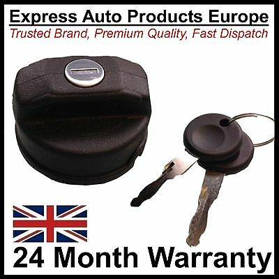Locking Petrol or Diesel Fuel Tank Filler Cap & Keys Seat Ibiza MK2 MK3 MK4