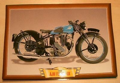 Ajw Flying Fox 500 Single Vintage Classic Motorcycle Bike 1930's Picture 1938