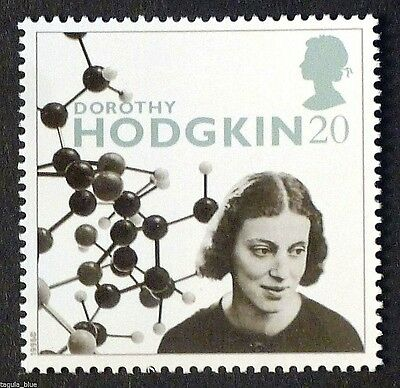 """""""Dorothy Hodgkin"""" illustrated on 1996 Stamp - Unmounted Mint"""