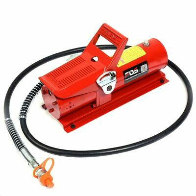 10,000 PSI 10 Ton Porta Power Hydraulic Air Foot Pump Control Lift 170PSI