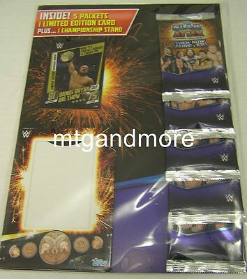 Slam Attax Then Now Forever Multipack (Limited Card+ 5 Booster Packs)