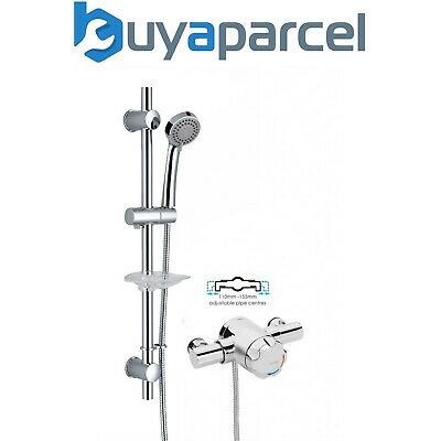 Sirrus Gummers TS1503 Opac Exposed Thermostatic Mixer Shower Valve 148-158mm