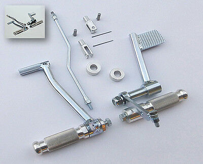 Commandes Reculées Classic Pour Bmw R90S, R100S, R100Rs, Made In Italy
