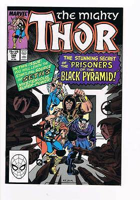 Thor # 398 The Prisoners of the Black Pyramid ! grade - 9.0 scarce book !!