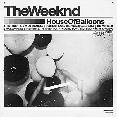 The Weeknd - House Of Balloons (NEW 2 VINYL LP)