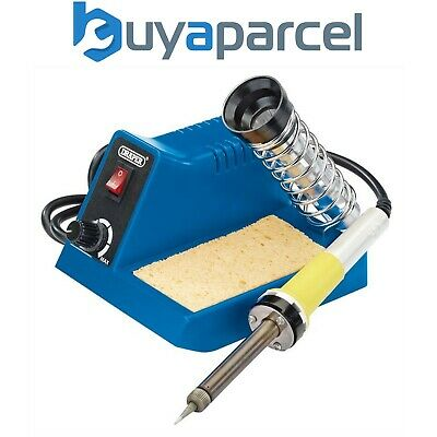 Draper 61478 Soldering Iron Station 40w with Cleaning Sponge