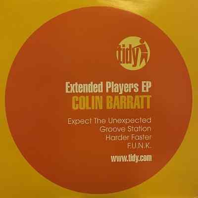 UKDJ Tidy Colin Barratt - Extended Players EP Vinyl Record Expect The Upexpected