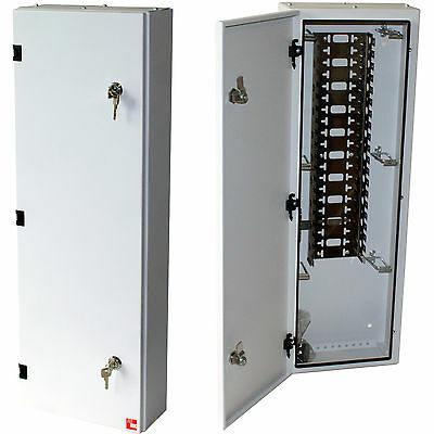 BT Metal Enclosure Junction/Distribution Box - 237 IDC Strip Connection 200 Pair