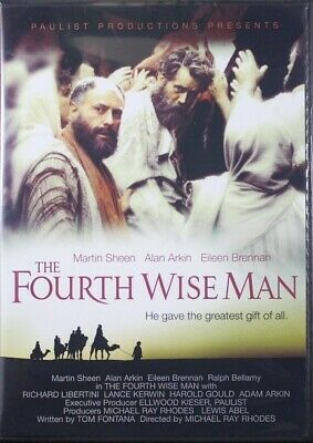 The Fourth Wise Man NEW Christian DVD starring Martin Sheen and Alan Arkin