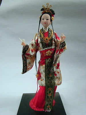 Oriental Broider Doll,China Old style figurine China doll girl (new)