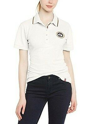Geographical Norway Katell Polo manches courtes Femme Blanc FR : XL NEUF