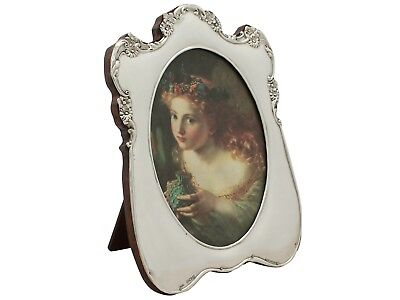 Sterling Silver Photograph Frame - Antique Edwardian - 1906