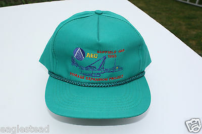 Ball Cap Hat - AEC Suffield Gas Storage Expansion Alberta Pipelayer 1993 (H1390)