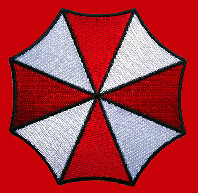 Resident Evil Umbrella Corporation Logo Iron On 4.75 Inch Patch
