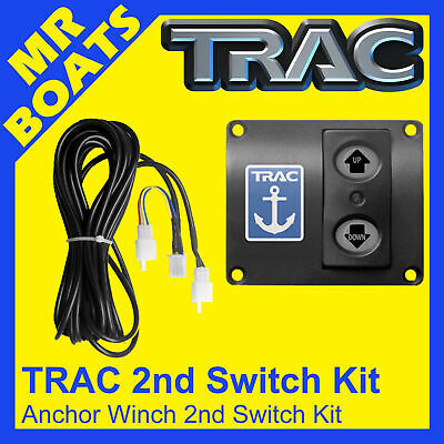 TRAC 2nd ANCHOR WINCH SWITCH KIT. All Trac Electric Boat Drum Winches FREE POST