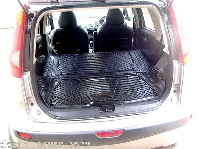 Nissan Note Rubber Boot Mat Liner Options and Bumper Protector