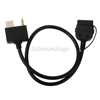 USB Aux Audio Cable Adapter 3.5mm for Hyundai I800 KIA Forte iPhone 4 iPod