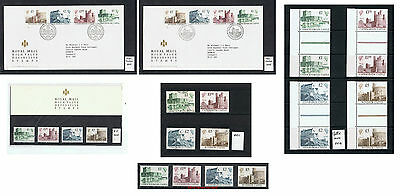 1988 Castle High Values Definitive stamps Choice Used Mint FDC Presentation Pack