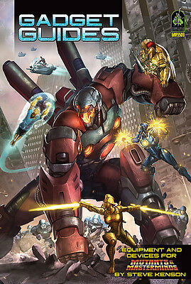 Mutants Masterminds Role Playing Game - Gadget Guides