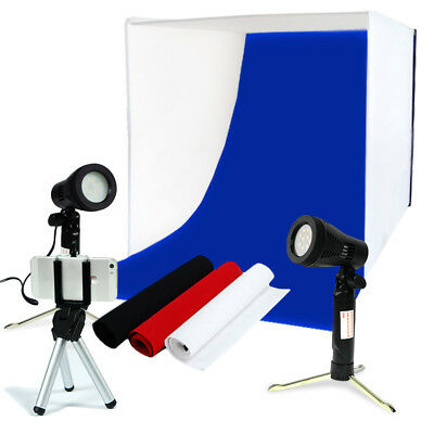 LimoStudio Table Top Photo Photography Studio Lighting Light Tent Kit in a Box