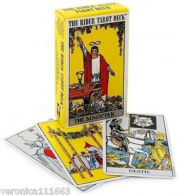 Rider Waite Tarot NEW Sealed 78 Cards Instructions Only Original Authorized Deck