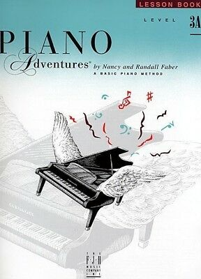 PIANO ADVENTURES Lesson Book Level 3A *NEW* 2nd Edition Music Tuition Faber
