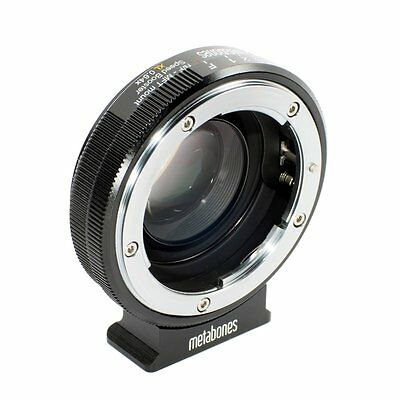 Metabones Nikon G to Micro Four Thirds Speed Booster XL 0.64x - MB_SPNFG-m43-BM2