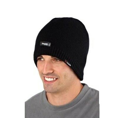 Pro Climate Waterproof Thinsulate Beanie Hat, 3M Windproof Hat Black M/L or L/XL