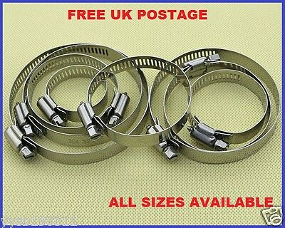 Pipe Clamps/Hose Clips Stainless Steel Jubilee Type