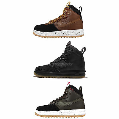 Nike Lunar Force 1 Duckboot / Sneakerboot Watershiel​d Mens Boots Shoes Pi