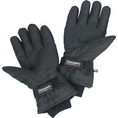 Battery Heated Thinsulate Gloves Size M Fishing Skiing, Motorcycle Ex Demo