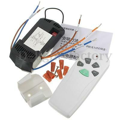 Ceiling Fan & Light Remote Control Kit Universal European Contracted NEW