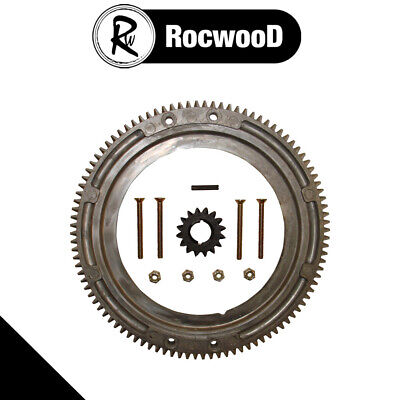 Starter Flywheel Ring Gear Kit Fits Briggs And Stratton, Replaces 399676 696537