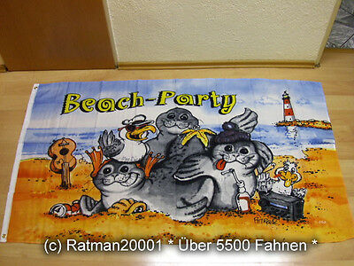 Fahnen Flagge Beach Party - 90 x 150 cm