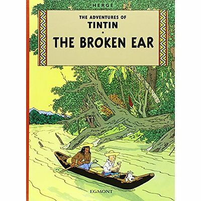 Tintin and the Broken Ear (The Adventures of Tintin) - Herge NEW Hardcover 20-Ju