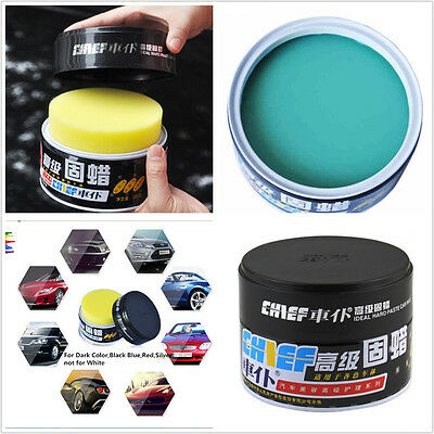 Waterresistant Paste Wax Ultra Gloss Soft Wax Polishes Solid for Dark Colour Car