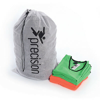 Precision Training Bib Carry Bag - Holds Approximately 75 Bibs - White rrp£12