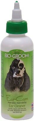 Bio Groom Ear Care Cleaner & Wax Remover 4 Oz Dog Or Cats Free Ship Usa