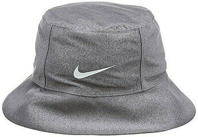 Nike Storm-fit Bucket Chapeau Homme Black Heather/Silver [FR : (Taille NEUF