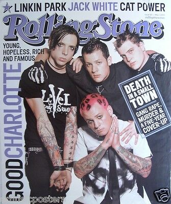 "GOOD CHARLOTTE ""YOUNG,HOPELESS,RICH"" U.S. POSTER - Group On Rolling Stone Cover"