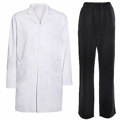 Lab Coat Jacket Trousers Pants Dr Doctor Hospital Warehouse Food Medical